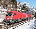 Foto zeigt: 1116.052 + 1144.083, DG 54541, Abzw. Bad Hofgastein 1 (Tauernbahn), 10.03.2016