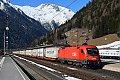 """Foto zeigt: 1116.196 """"Rupert"""" am Josefitag mit EKOL im Bahnhof Mallnitz-Obervellach (Tauernbahn)"""
