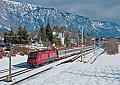Foto zeigt: Italien-RailJet 1216.018 am EuroCity 31