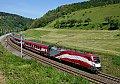 Foto zeigt: Ski-WM / Fahnen railjet-Sichtungen zwischen Bruck und Graz