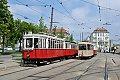 """Foto zeigt: Strassenbahn Wien: """"Kunterbunt in´s Frühjahr"""""""