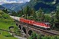 Foto zeigt: 1144.274 + 1116.104, Bad Hofgastein Hst. - Pyrkershöhe-Viadukt (Tauernbahn)