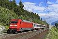 Foto zeigt: Vermehrt DB 101 am Wochenende über die Tauernbahn