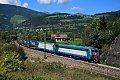 Foto zeigt: FS E405.015 + FS E412.007, TEC 42153, Vipiteno/Sterzing (Brennerbahn / Südrampe)