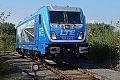"""Foto zeigt: LTE 187.930 auf der """"Last Mile"""" bei Anschlussbahn Messendorf (Steirische Ostbahn)"""
