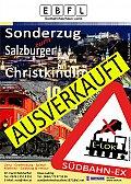 Foto zeigt: Sonderfahrt zum Salzburger Christkindlmarkt (Fahrplan-Anpassung)