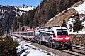Foto zeigt: 1216.020, EC 81 (München Hbf > Verona), St.Jodok (Brennerbahn)