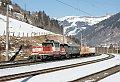 am Foto: 1163.010, VG 75373, Bad Hofgastein (Tauernbahn), 14.02.2017