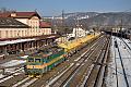 Foto zeigt: CD 163.233, Güterzug, Ústí nad Labem-Střekov  (Bahnstrecke Ústí nad Labem-Střekov–Ústí nad Labem západ)