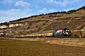 """Foto zeigt:Dispo-Lok182.509: """"Picknick"""" auf der Main-Spessart-Bahn"""