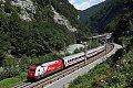 Foto zeigt: Auf der Giselabahn zwischen Salzburg und Wörgl