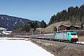 Foto zeigt: Mit dem Alpen Express nach Österreich