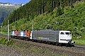 Foto zeigt: Railadventure 103 bringt Dieselloks über den Tauern