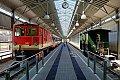 am Foto: Növog 2095.007 in der Panorama-Bahnhofshalle Gmünd (Waldviertler Schmalspurbahnen)