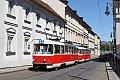 Foto zeigt: Neue Tatra Nostalgielinie in Prag
