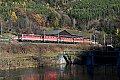 Foto zeigt: 1142.575 + 1142.638 + 1144.290 + 1144.080 + 1142.601, 5fach-Lokzug, Schlöglmühl (Semmeringbahn)