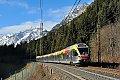 Foto zeigt: STA Flirt als R 20723 Richtung Meran bei Gossensaß (Brennerbahn - Südtirol)