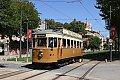 Foto zeigt: Straßenbahn Almada, Porto und Sintra