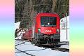 am Foto: 1116.051 mit Autoschleuse Tauernbahn in Mallnitz-Obervellach