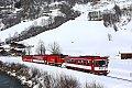 Foto zeigt: Winterliche Pinzgaubahn