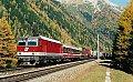 am Foto: 1044.073 mit RoLa bei Mallnitz Nord (Tauernbahn)