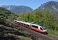 Foto zeigt: Cityjet-Design Talent 4023.011 zwischen Payerbach-Reichenau und Küb (Semmeringbahn)