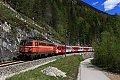 am Foto: 1142.564 mit Regionalzug im Salzkammergut