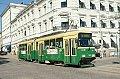 Foto zeigt: Straßenbahn in Helsinki/Helsingfors