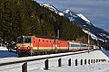 am Foto: 1144.092 + 1144.117, IC 591, Penk (Tauernbahn), 23.02.2014