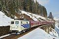 am Foto: Lokomotion 139.213 im winterlichen Gasteinertal