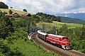 Foto zeigt: M61.017 (NOHAB Rundnase), SR 14859, Eichberg  (Semmeringbahn), 07.07.2014