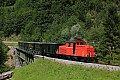 Foto zeigt: 2091.08 auf der Sporeneggbrücke bei Schwarzenberg