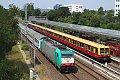 Foto zeigt: DB 186.241 und 485.141, Berlin Landsberger Allee (S Bahn Berlin)