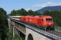 Foto zeigt: 2016.082 + 2016.044, SDRV 13152, Feistritz im Rosental (Rosentalbahn), 06.08.2016