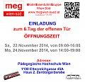 Foto zeigt: MEG Wien Süd - TdoT 22. + 24.11.2014