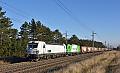 Foto zeigt: Vielfältige private Güterbahnen auf der Südbahn