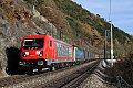 Foto zeigt: TRAXX 187 auf der Semmeringbahn