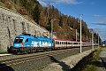 am Foto: 1016.023 mit EuroCity (Tauernbahn)
