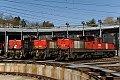 Foto zeigt: 1064.002 + 1064.003 + 1064.004, Villach Westbf. (Traktionsstützpunkt)