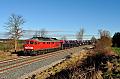 Foto zeigt:DB 232.330, GA 47290, Schönefeld, 13.1.2015