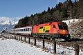 am Foto: GySEV 1116.063 mit EC 111, (Tauernbahn)