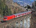 Foto zeigt: DB-Regio Südostbayern Bahn-Sonderzug auf der Tauernbahn