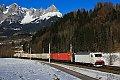 Foto zeigt: 186.443 im Salzachtal unterwegs