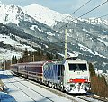 Foto zeigt: Lokomotion 186.440, D 13189, Angertal (Tauernbahn), 31.01.2015