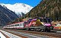 am Foto: 1116.180, IC 690, Mallnitz-Obervellach (Tauernbahn), 07.03.2015
