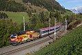 """Foto zeigt: 1216.019 """"Wagner-Verdi"""", EC 81, Matrei (Brennerbahn), 19.10.2013"""