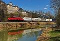 am Foto: 1020.018 EKOL beim Schloß Trautenfels (Ennstalbahn)