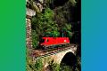 am Foto: 1016.044 bei Loifarn am eingleisigen Klamm-Viadukt (Tauernbahn)