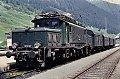 Foto zeigt:1020.47 mit Personenzug auf der Arlbergbahn