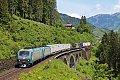 Foto zeigt: Privatvergnügen auf der Tauernbahn